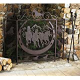Amazon.com: Ll Home Metal Horse Fire Screen: Home & Kitchen