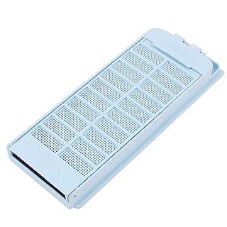 9,5 x 4,5 cm malla de alambre de acero Filtro de pelusa de red para lavadora Haier Sourcingmap US-SA-AJD-53312
