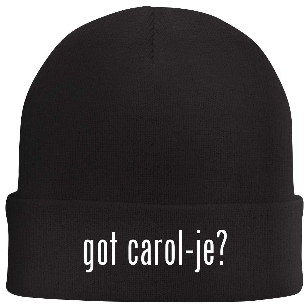 got Carol-je? Beanie Skull Cap with Fleece Liner