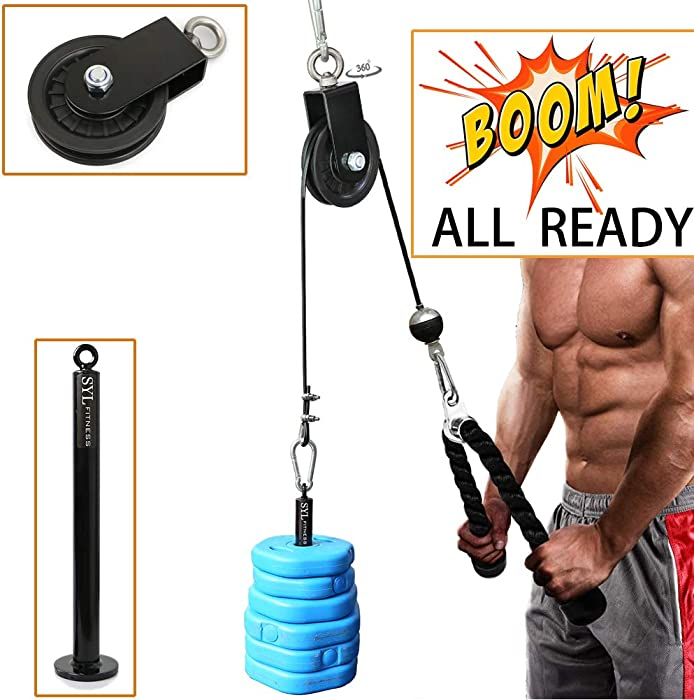 Top 6 Fitness Maniac Usa Home Gyn Cable Attached
