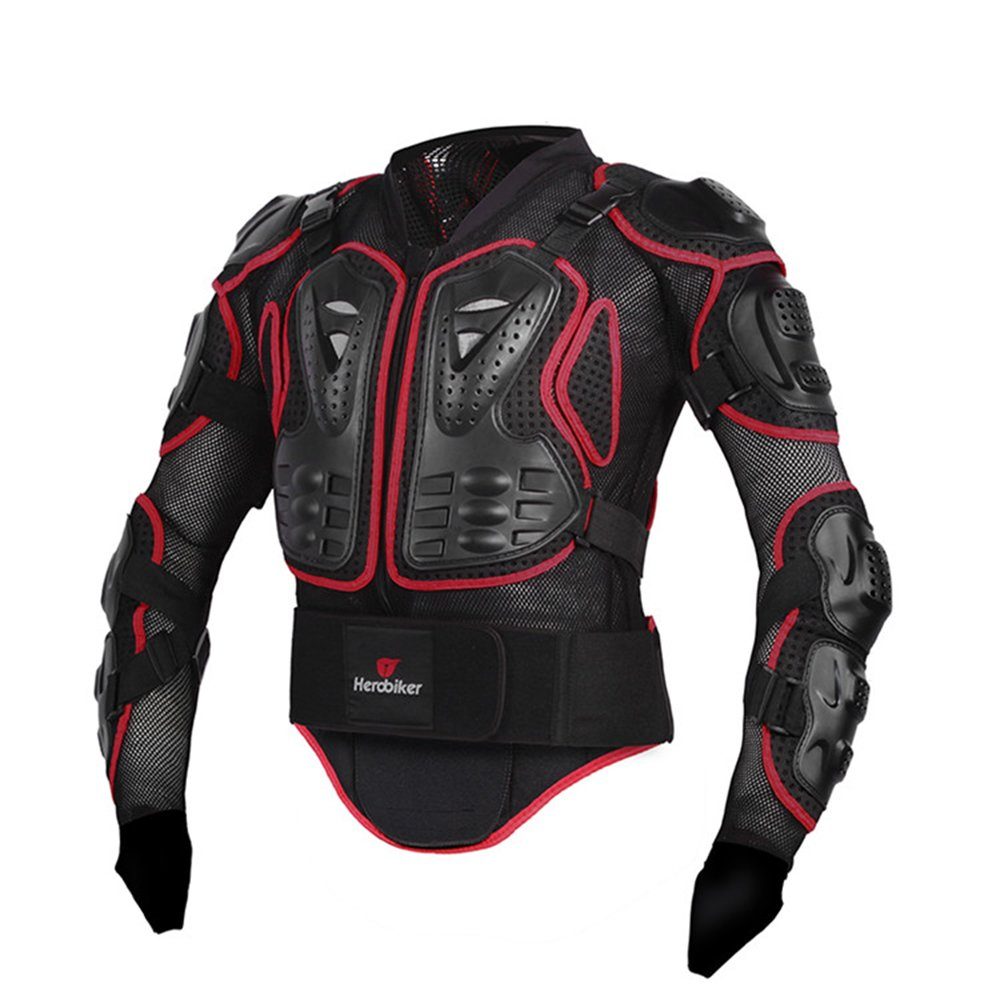 Leather jacket olx - Amazon Com Herobiker Motorcycle Full Body Armor Jacket Spine Chest Protection Gear Motocross Motos Protector Motorcycle Jacket 2 Styles L