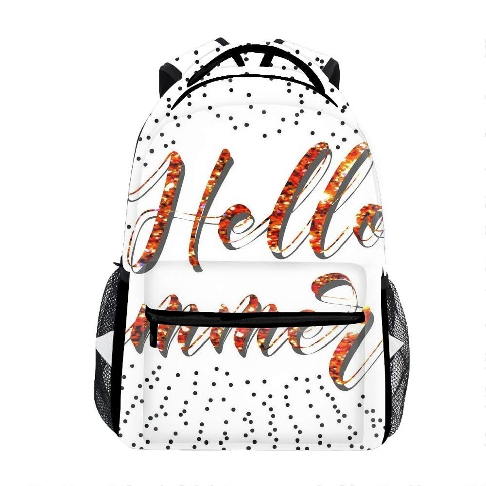 Brush lettering8 Psychotic Killer School Bookbags for Girls, Cute Casual Backpack College Bags Women Daypack Travel Bag