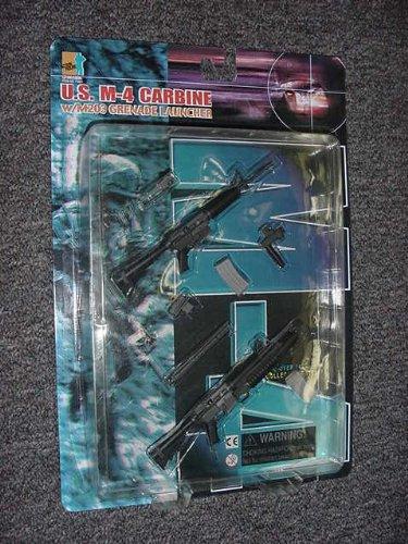 1/6 Scale Dragon Models U.S. M-4 Carbine W/ M203 Grenade Launcher ()
