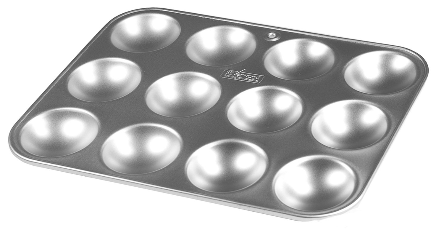 Alan Silverwood 12 x 9 inch Twelve Hole Bun Tray Mince Pie Tin 33423