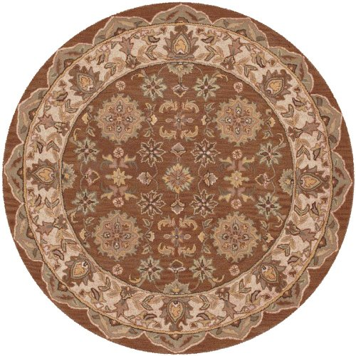 LR Resources Traditional Round Area Rug 7'9