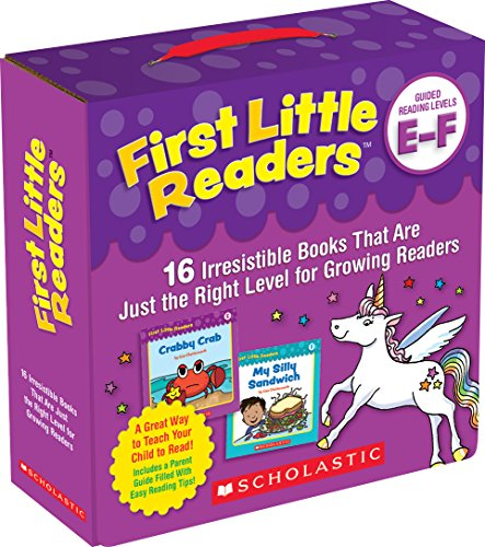First Little Readers Parent Pack: Guided Reading Levels E & F: 16 Irresistible Books That Are Just the Right Level for Growing Readers