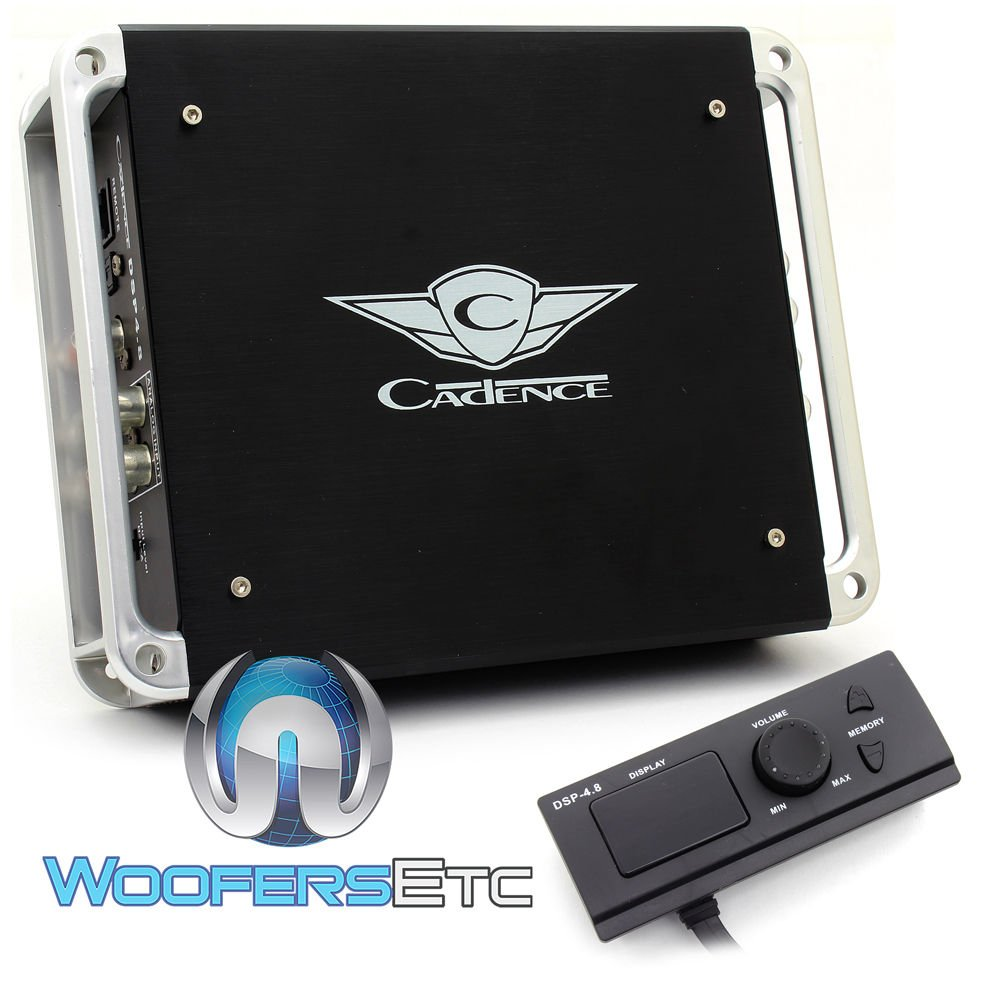 Cadence DSP4.8 8-Channel Cirrus Logic Powered 32-Bit Core/192kHz Digital Signal Processor
