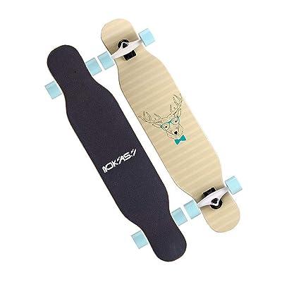 Aniseed Skateboards Longboards Drop Through Downhill/Cruiser Freeride Complete Longboard 42 Inch Mr. Deer : Sports & Outdoors
