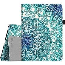 Fintie iPad 9.7 Inch 2017 / iPad Air 2 / iPad Air Case - [Corner Protection] Premium PU Leather Smart Folio Cover w/ Auto Sleep / Wake for iPad 9.7 Inch 2017 Release, iPad Air 1 2, Emerald Illusions