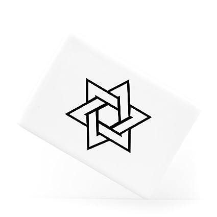 Amazon Star Of David Jewish And Judaism Symbol Hexagram Ceramic