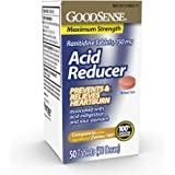 GoodSense Acid Reducer, Ranitidine Tablets,150 mg,50 count