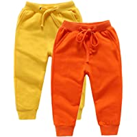 DCUTERQ Pantalones Deportivos para Niños Niñas Pantalón Largos Elástico Cintura Pantalones de Chándal Joggers Algodón…