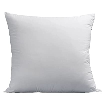Amazon Deluxe Home Euro Pillows 40x40 Square Pillow Insert For Beauteous 26x26 Pillow Insert Walmart