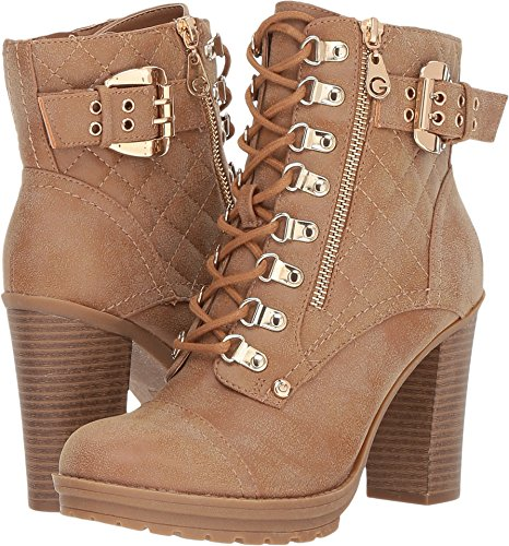 G by GUESS Women's Gloss Camel 9.5 M US