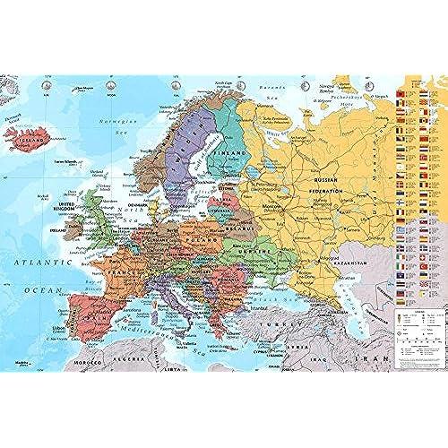 European Map Amazoncom