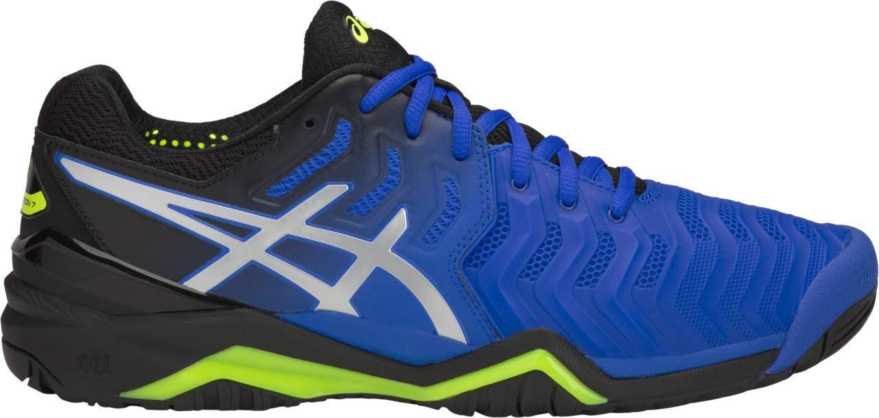 ASICS Gel-Resolution 7 Men's Tennis Shoe, Illusion Blue/Silver, 6 D US