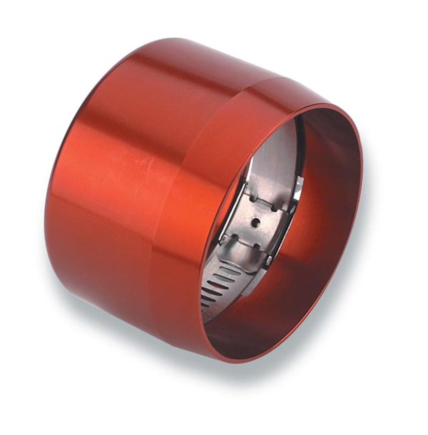 Earl's 900106 Econ-O-Fit Red Anodized Aluminum #6 Hose Clamp