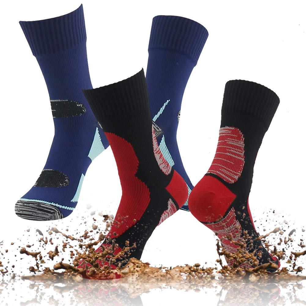 RANDY SUN Men's Women's Spring and Summer Hiking Socks, Industrial Nylon Strength Extended-Length Socks Gift Socks by RANDY SUN