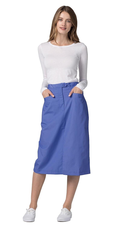 6cff806f557c Amazon.com: Adar Universal Mid-Calf Length Angle Pocket Skirt: Clothing