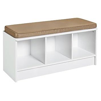 Amazing ClosetMaid 1569 Cubeicals 3 Cube Storage Bench, White