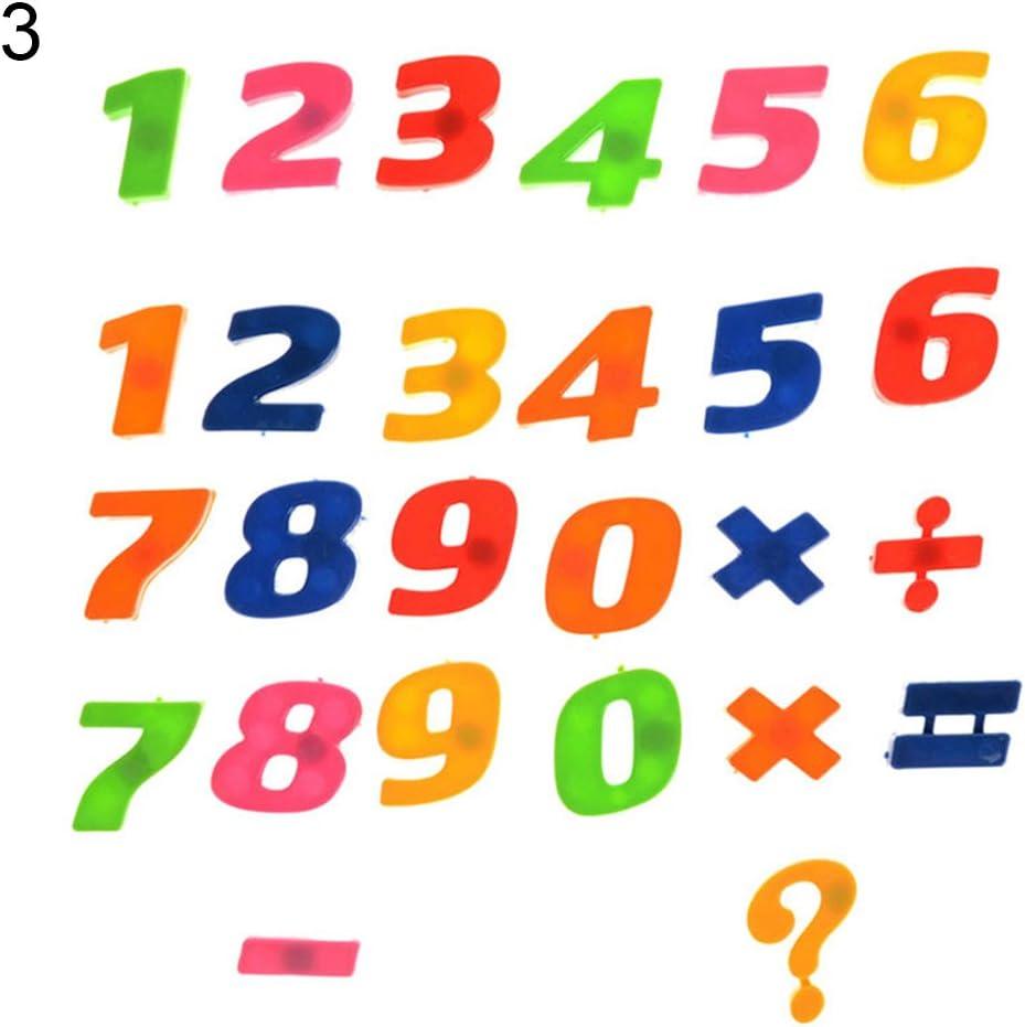 78PC Aimant De Réfrigérateur Magnétique Alphabet Lettre numéro Kids Learning Teaching Jouet uk
