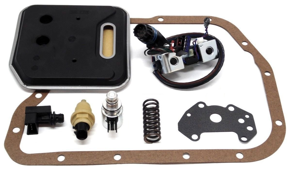 Wellington Parts Corp Solenoid Service & Upgrade Kit 46RE 47RE 48RE A-518 2000-On Heavy-Duty (21450) by Wellington Parts Corp