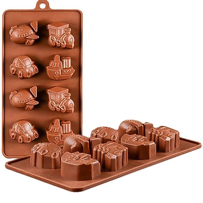 DEESEE(TM) Molde de silicona para decoración de tartas y chocolates: Amazon.es: Bricolaje y herramientas