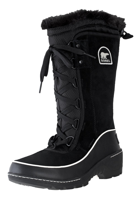 SOREL Womens Tivoli III Pull On Boot Black/Light Bisque 5 B(M) US