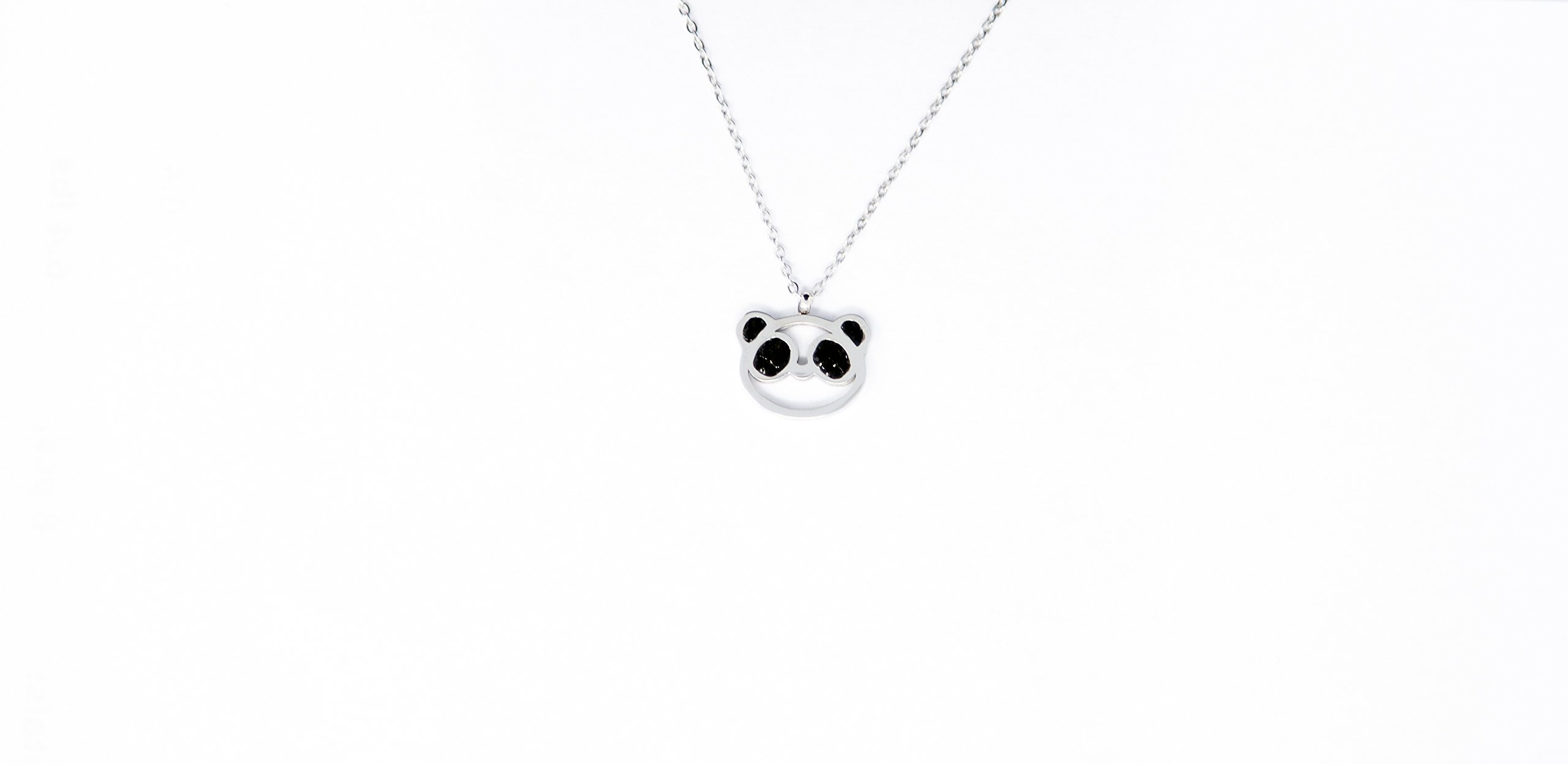Inspirational Necklaces for Women - Panda Charm Pendant with Unique Gift Box and Inspiring Mantra Quote Card - Jewelry Stainless Steel for Women Necklace Charm - College Graduation Gifts for Her by Classic Inspirational Jewelry (Image #3)