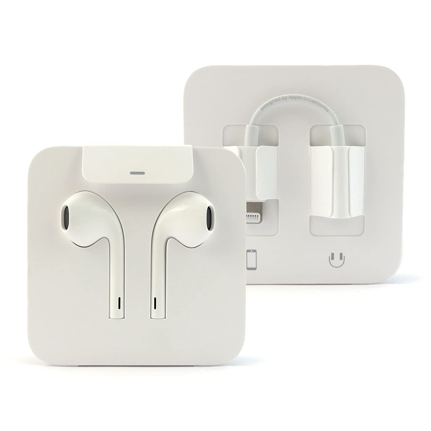 Apple EarPods Earbud Earphones With Lightning Connector Amazoncouk Electronics
