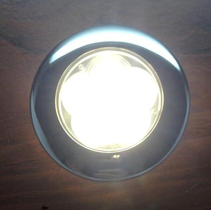 Amazon.com: Barco Marino 6 LED blanco cálido techo Cortesía ...