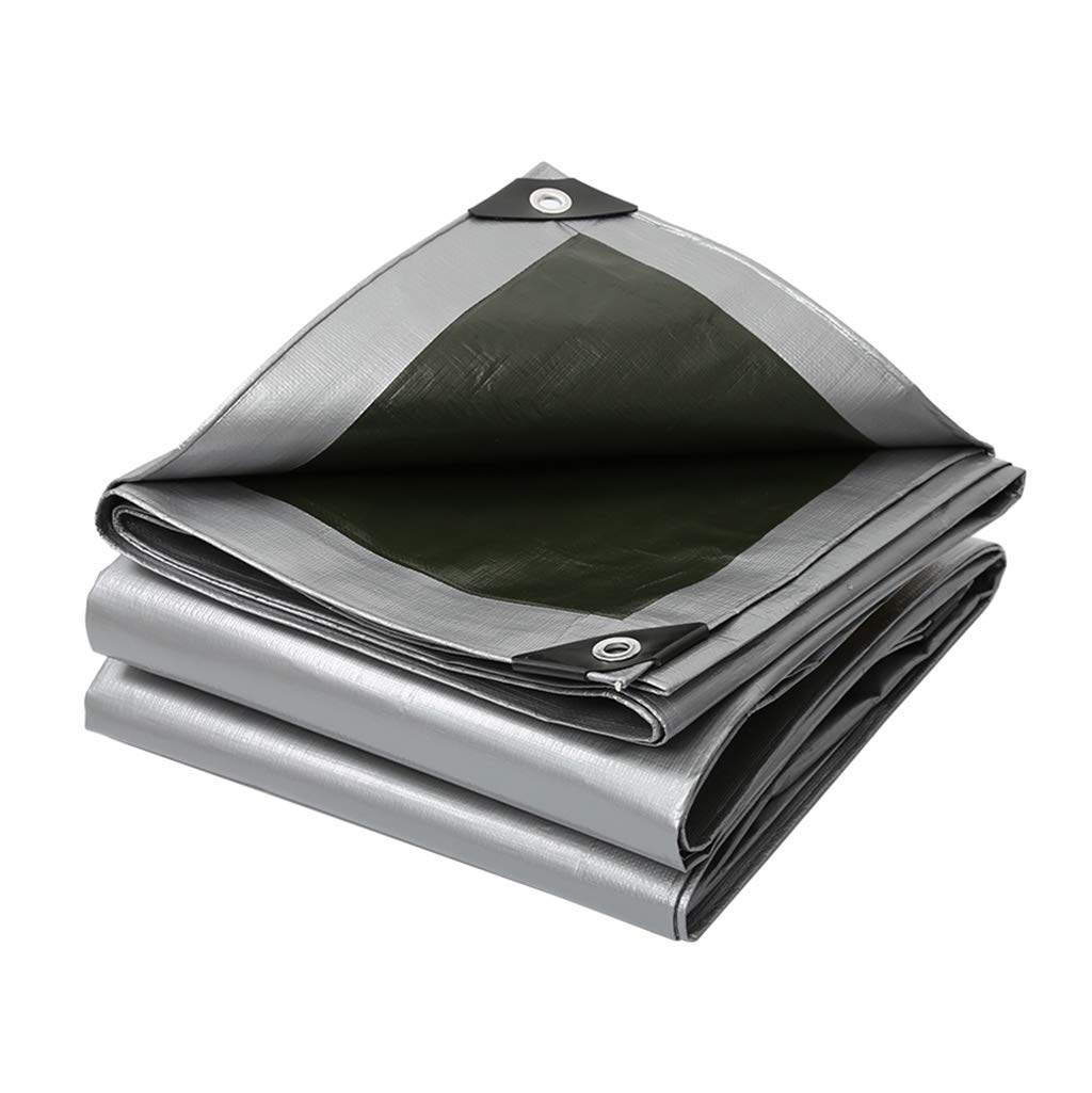 Home warehouse Verdicken Sie Plastikregenschutztuch, im Freien Wasserdichte Sonnencreme Plastikplanen-Schatten-Zelt-Tuch-Regenschutz-Tuch-Zaun staubdichtes Tuch,5  5M