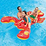 Funny Lobster Shaped Inflatable Float Bed Inflatable Ride