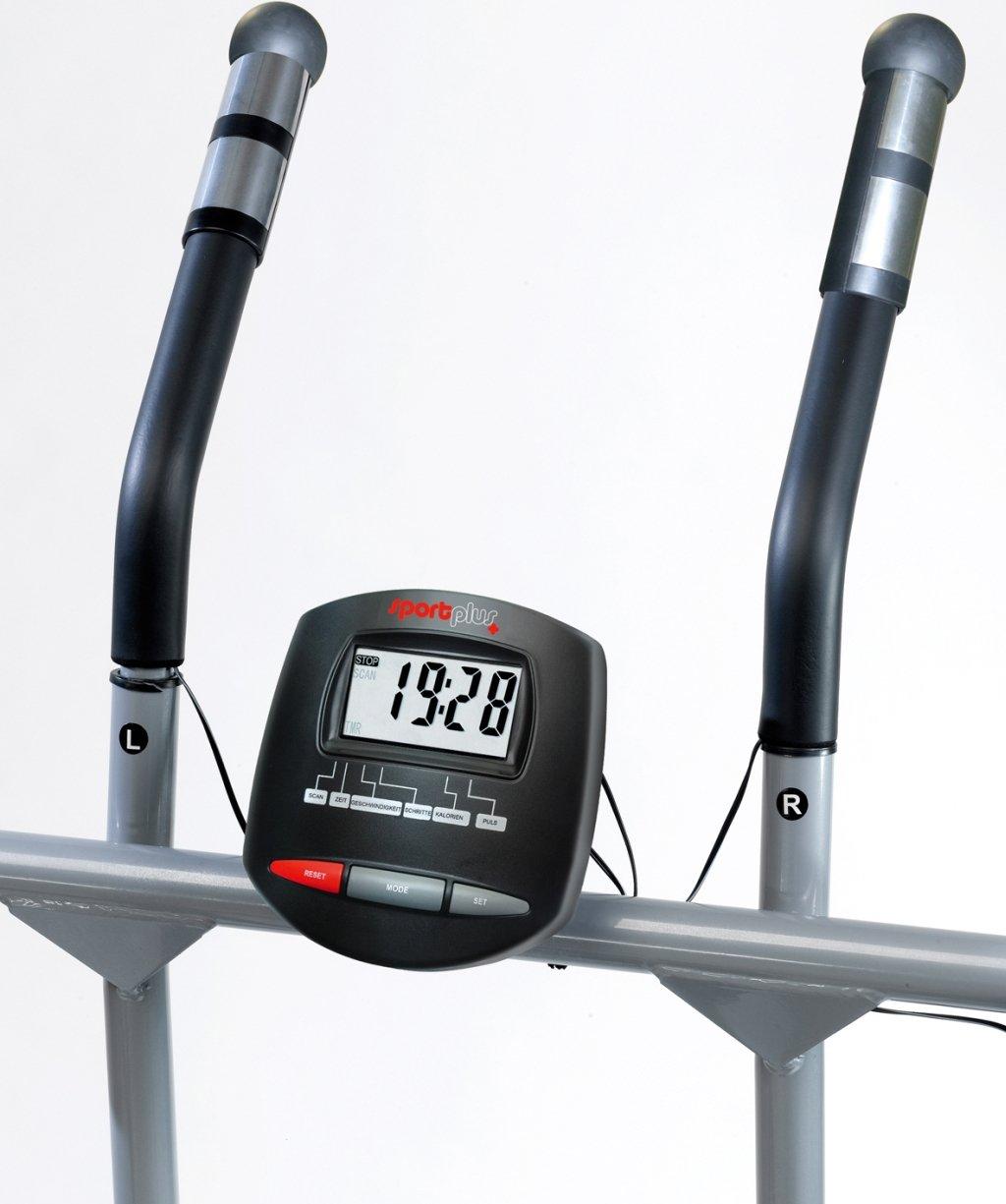 Crosstrainer // Nordic Walker // Stepper Marche Nordique Ordinateur de Contr/ôle Norm/é EN ISO 20957 Pliable et ultra Compact SportPlus SP-NW-004 Poids de lUtilisateur jusqu/à 100/kg