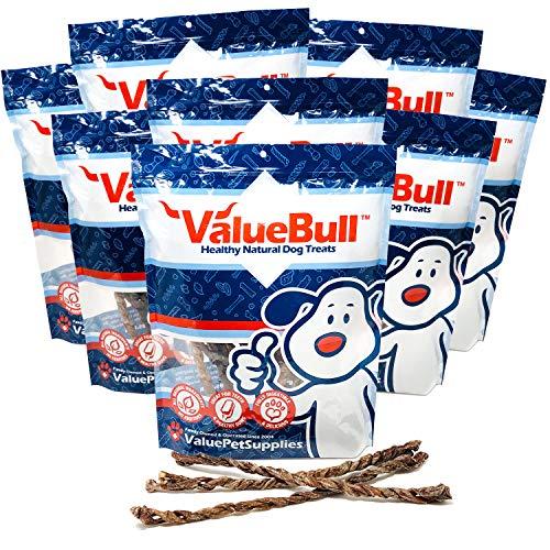 ValueBull USA Twisted Lamb Weasand Dog Chews