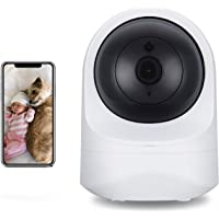 SecuPlug Baby Monitor,Pet camera,Home Security Camera,1080P HD Wireless WiFi Camera for Pet/Nanny, Free Motion Alerts, 2…