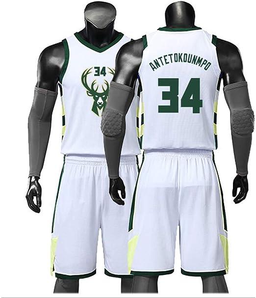Z//A Milwaukee Bucks para Hombre Pantalones Deportivos Atletismo Entrenamiento De Baloncesto Sweetpants Casual C/ómodo Equipo Suelto Logo Pantalones para J/óvenes,S