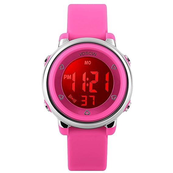 320406a2000d Relojes de pulsera digitales para niños niñas