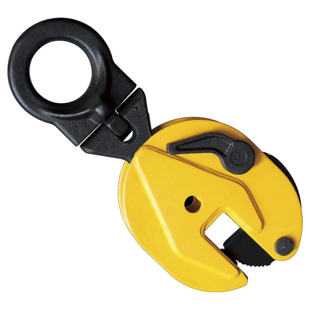 1 Ton Vertical Locking Plate Lifting Clamp 2200 LBS Capacity