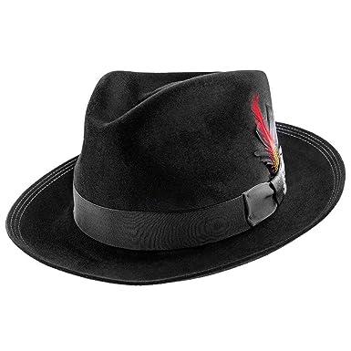 4f743449efd74 Stetson Benchmark 150th Beaver Fur Felt Fedora Hat - TFBNCMG at Amazon  Men s Clothing store