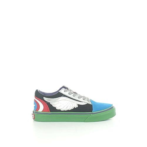 Vans VA38HBU3V Zapatillas Niño Multicolor 33: Amazon.es: Zapatos y complementos