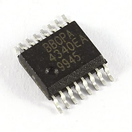Circuito Integrado Dual Amplificador Operacional OPA4340EA 8 pines DIP IC