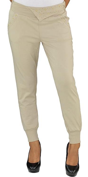 Daman Aladin Boyfriend Harems Pump Pluder Baggy Chino Jeans Hose Stretch Hüft