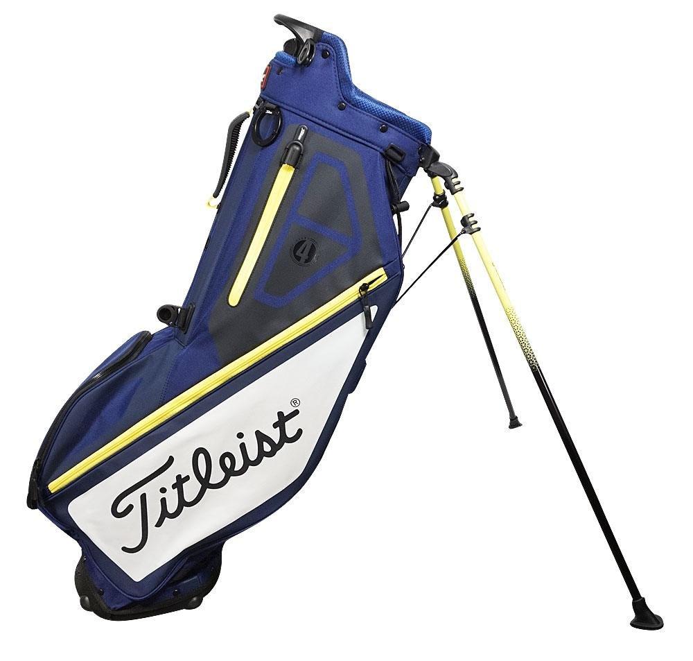 Titleist golf- 2017選手4スタンドバッグ B06XBG738X Navy/White/Yellow Navy/White/Yellow