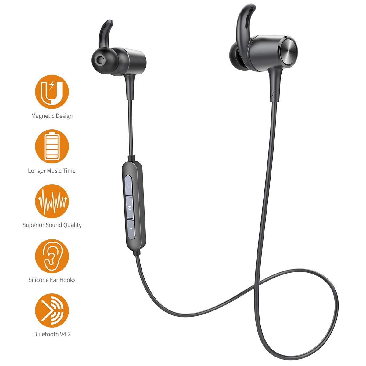 Auriculares Deportivos Bluetooth Inalámbricos Doosl Alta fidelidad ...