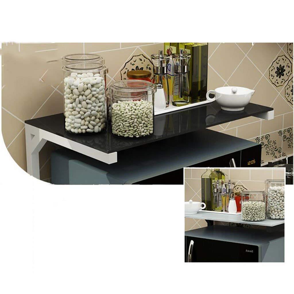 Pratique étagère De Rangement En Métal Cuisine Moderne Multifonction étagère  à Condiments Blanc Et Noir étagère ...