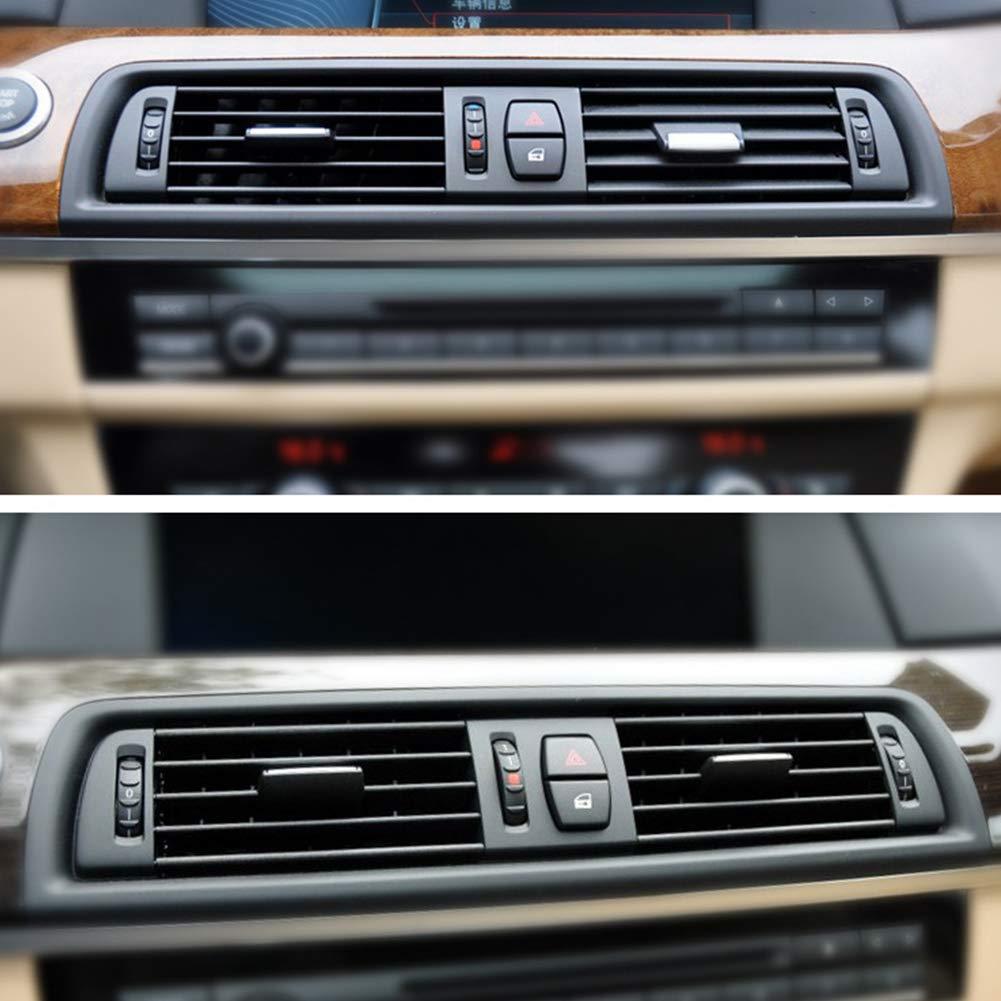 Presa daria con griglia del cruscotto della console per BMW F10 F11 F18520 523 525 528 530 535 2010-2016 Griglia aria anteriore per BMW Serie 5