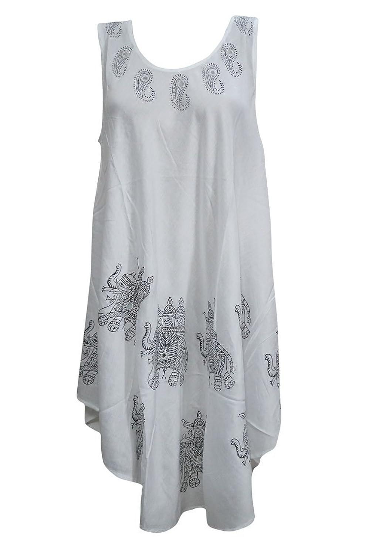 Mogul Interior LADIES WOMANS SUMMER TROPICAL BEACH HOLIDAY LONG DRESSES L