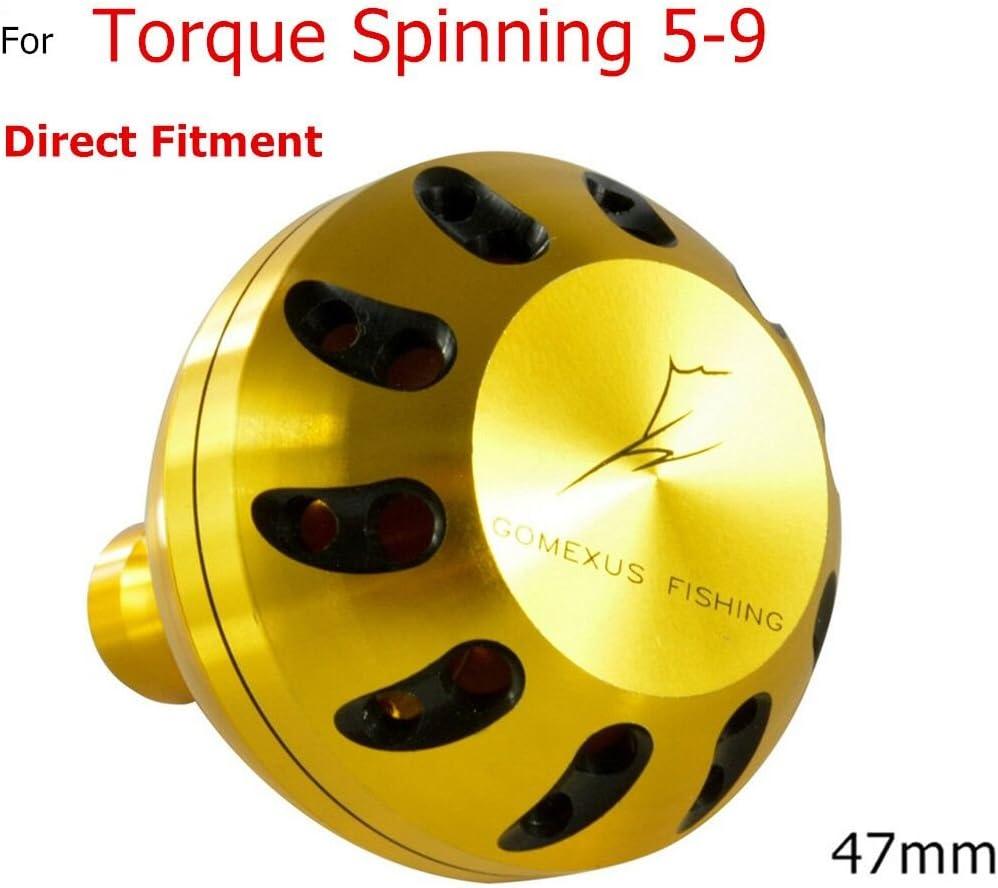 gomexus poder Handle Knob 47 mm para PENN par Spinning trqs5 trqs7 ...
