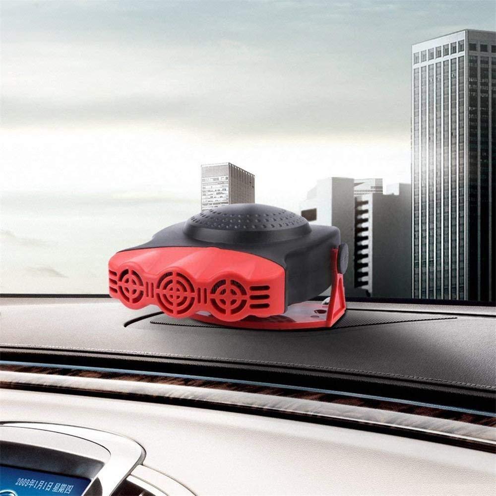 Innenraumheizung Auto Defroster Auto-Heizer-Fenster TPulling Auto Scheibenenteiser Heizl/üfter,12V 150W Auto Heizl/üfter PKW Rot 150W tragbarer Heizl/üfter